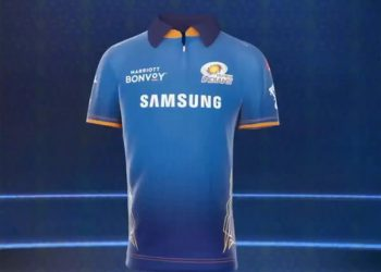 Mumbai Indians unveil new jersey