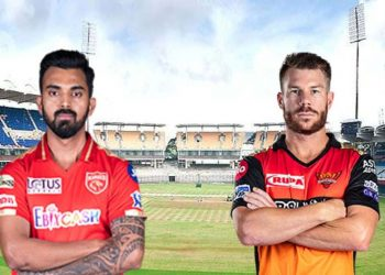 14th match of IPL Sunrisers Hyderabad Versus Punjab Kings