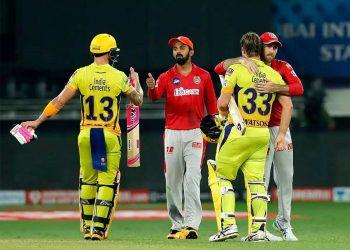 Chennai Super Kings versus Punjab Kings