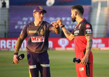 Tenth match of IPL Royal Challengers Bangalore versus Kolkata Knight Riders