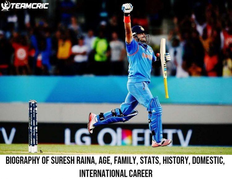 Biography of Suresh Raina, Age, Family, Stats, History, Domestic, International Career