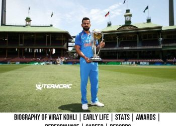 Biography of Virat Kohli Early Life Stats Awards Performance Career Records