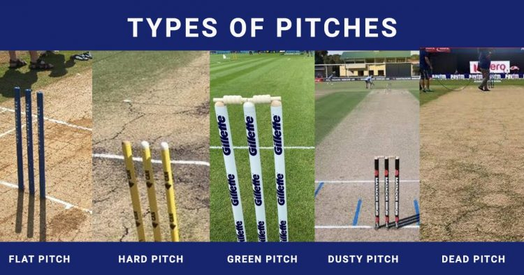 5 Types of Pitches in Cricket