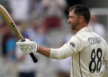 Devon Conway creates batting record