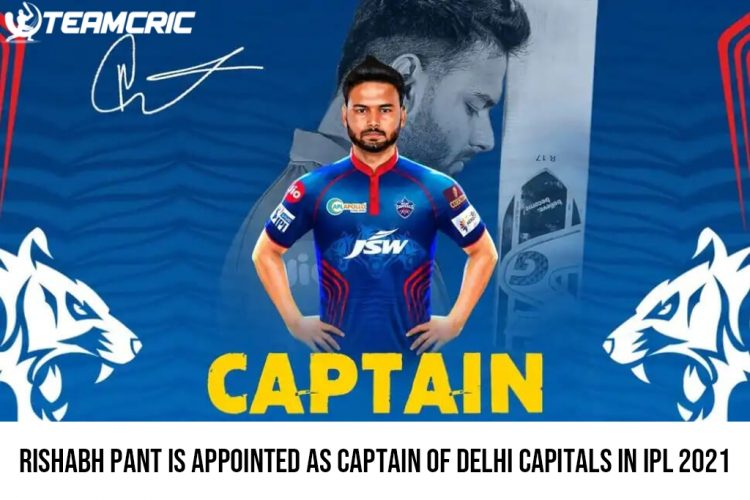 Rishabh Pant Is Appointed As Captain Of Delhi Capitals In IPL 2021