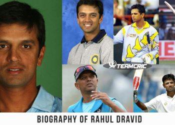 Biography of Rahul Dravid